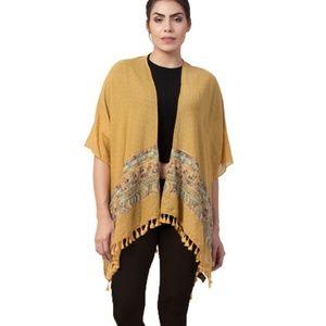 Raj Kimono Phyllis Embroidered